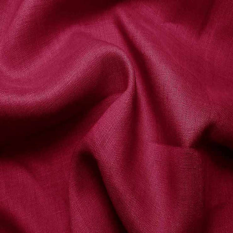 Handkerchief Linen Fuchsia - NY Fashion Center Fabrics
