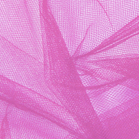 Nylon Tulle - 50 Yard Bolt Fuschia - NY Fashion Center Fabrics