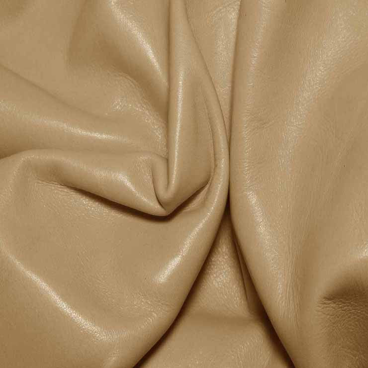 Aniline Calf Leather GC304 CafeLatte - NY Fashion Center Fabrics