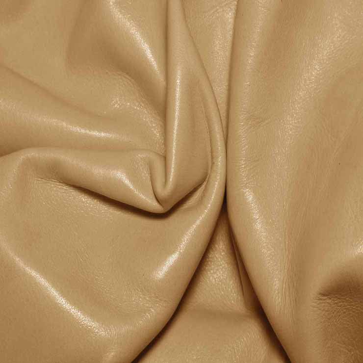 Aniline Calf Leather GC307 Camel - NY Fashion Center Fabrics