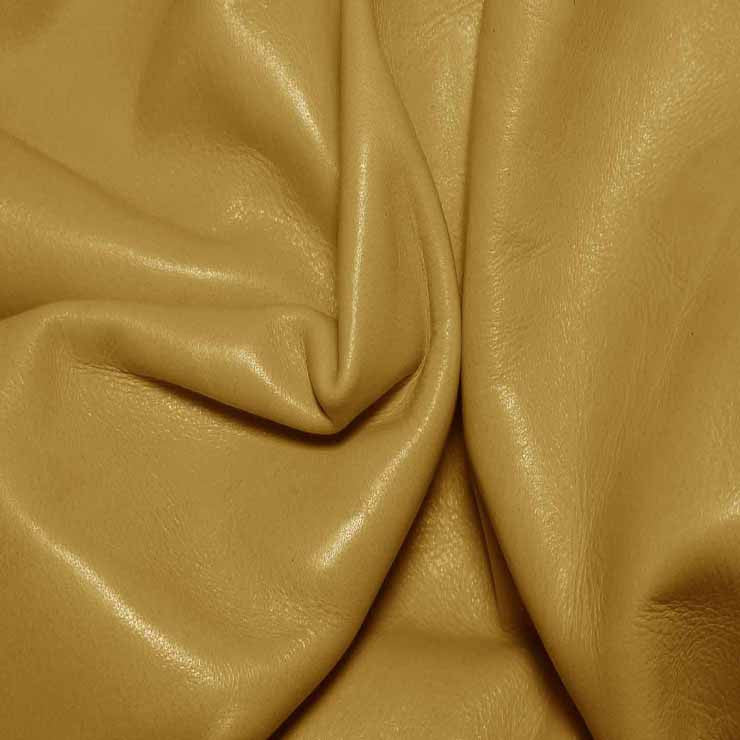 Aniline Calf Leather GC317 Buttercup - NY Fashion Center Fabrics