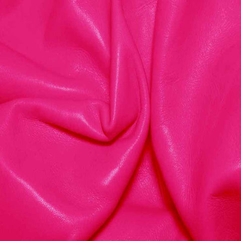 Aniline Calf Leather GC322 Magenta - NY Fashion Center Fabrics
