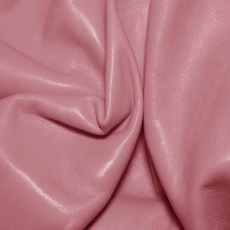 Aniline Calf Leather GC323 Pink - NY Fashion Center Fabrics