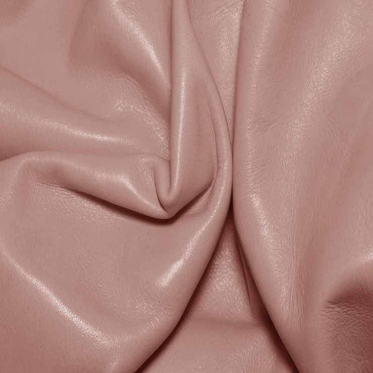 Aniline Calf Leather GC324 BabyPink - NY Fashion Center Fabrics