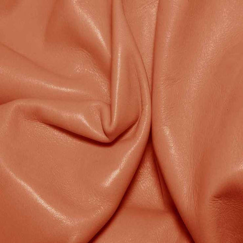 Aniline Calf Leather GC326 Salmon - NY Fashion Center Fabrics