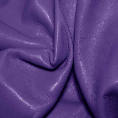 Aniline Calf Leather GC332 Grape - NY Fashion Center Fabrics