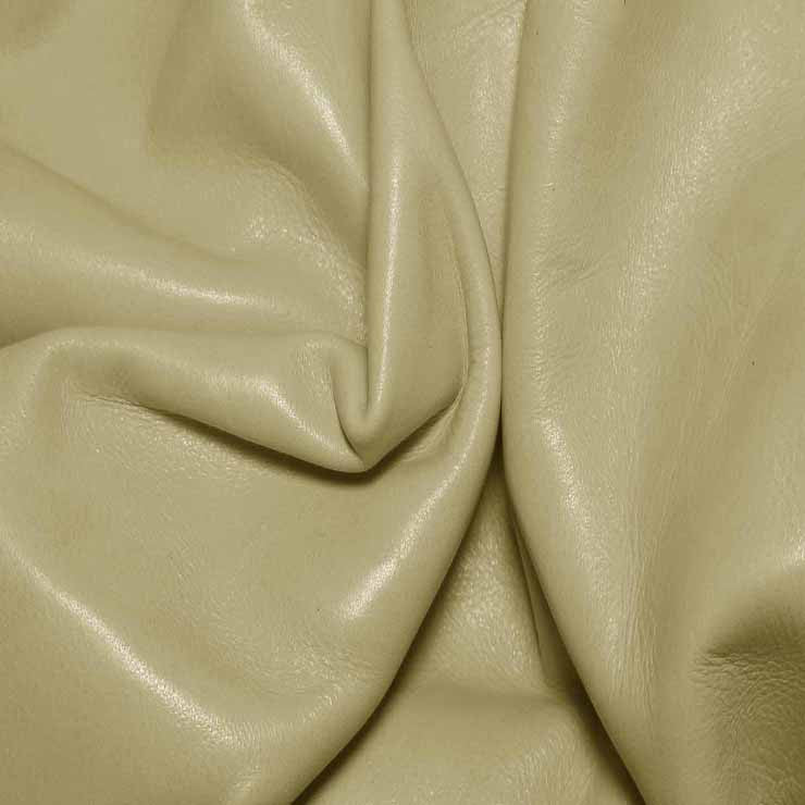Aniline Calf Leather GC333 Cement - NY Fashion Center Fabrics