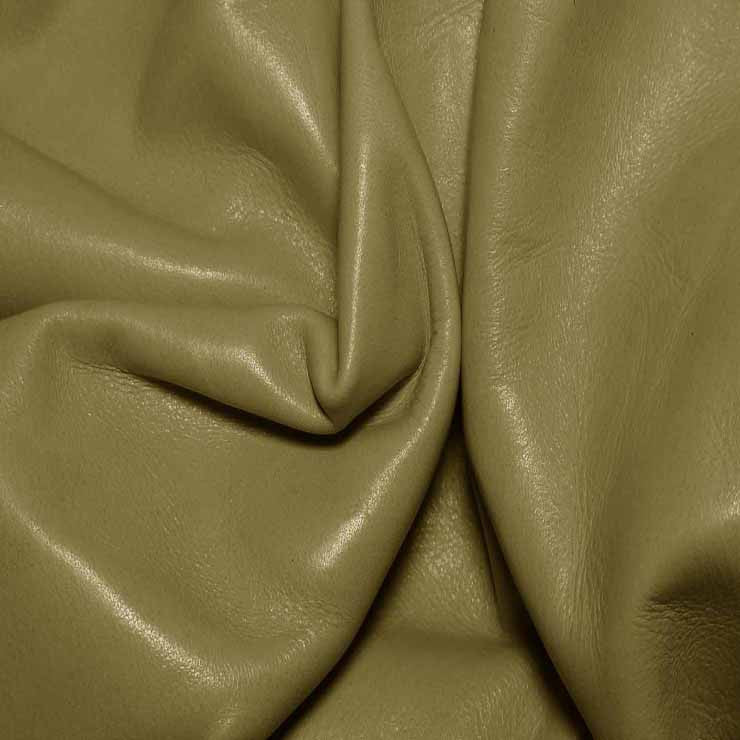 Aniline Calf Leather GC334 Verde - NY Fashion Center Fabrics