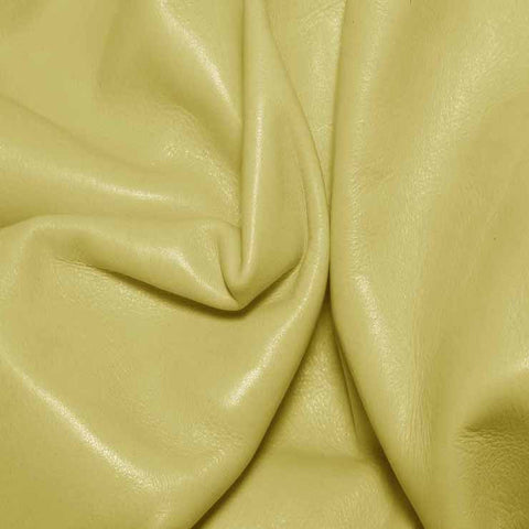 Aniline Calf Leather GC341 BabyYellow - NY Fashion Center Fabrics