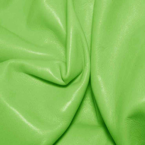 Aniline Calf Leather GC343 Pistachio - NY Fashion Center Fabrics