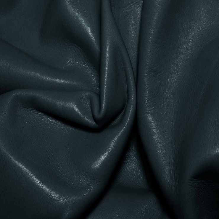 Aniline Calf Leather GC350 SlateBlue - NY Fashion Center Fabrics