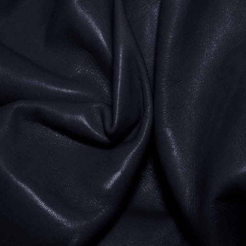 Aniline Calf Leather GC351 Navy - NY Fashion Center Fabrics