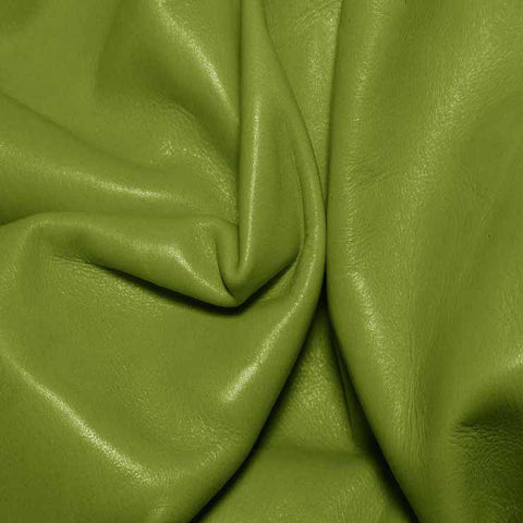 Aniline Calf Leather GC352 AppleGreen - NY Fashion Center Fabrics