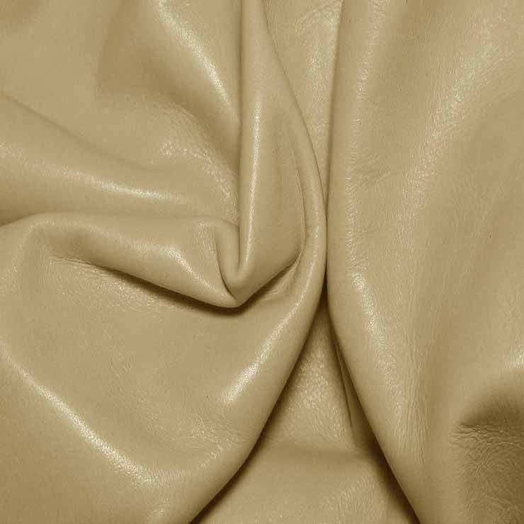 Aniline Calf Leather GC353 Vanilla - NY Fashion Center Fabrics
