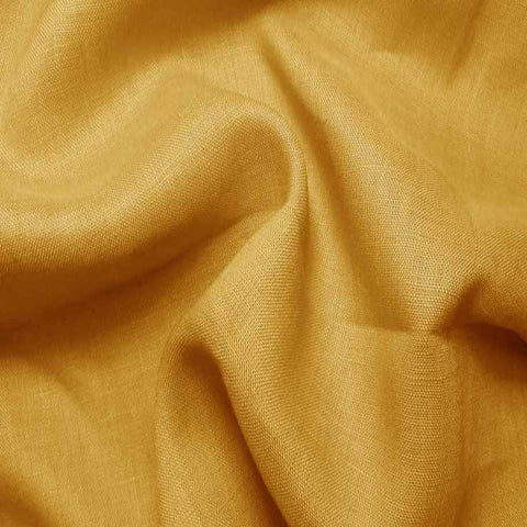 Handkerchief Linen Gold - NY Fashion Center Fabrics
