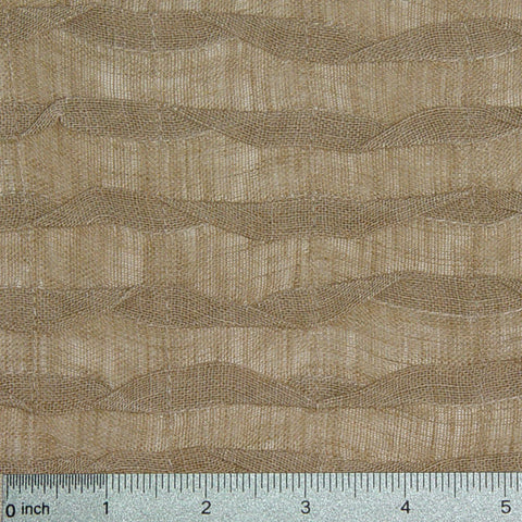 Venetian Pleated Linen Gold
