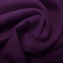 Wool Crepe Grape