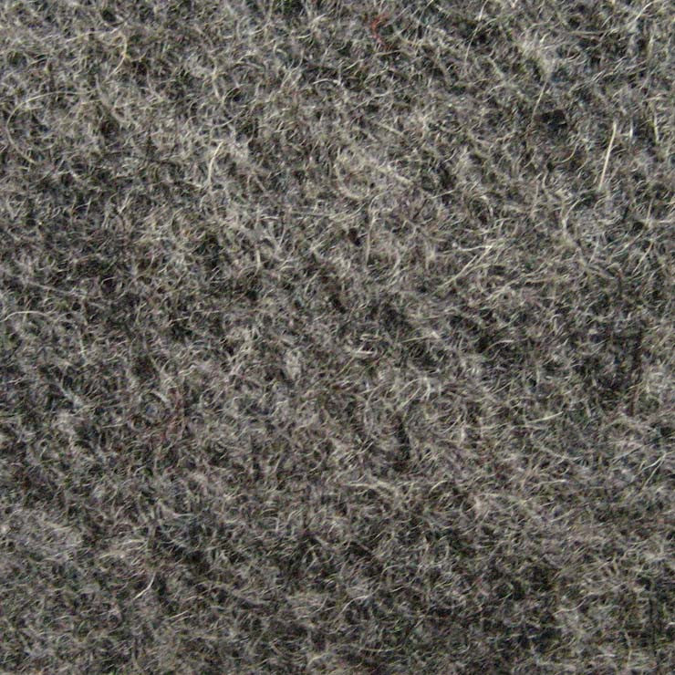 Wool Melton Medium Gray 442