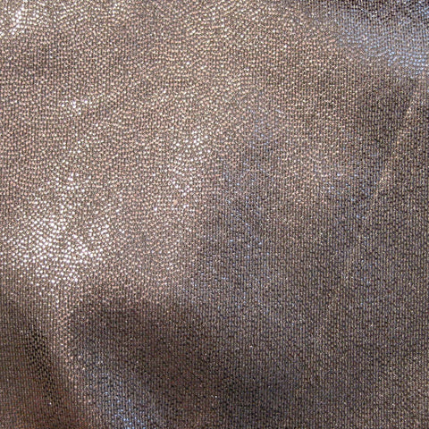 Foil Dotted Spandex 15 Yard Minimum Gray - NY Fashion Center Fabrics
