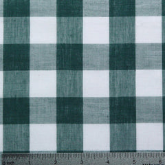 Cotton/Polyester Gingham Green - NY Fashion Center Fabrics