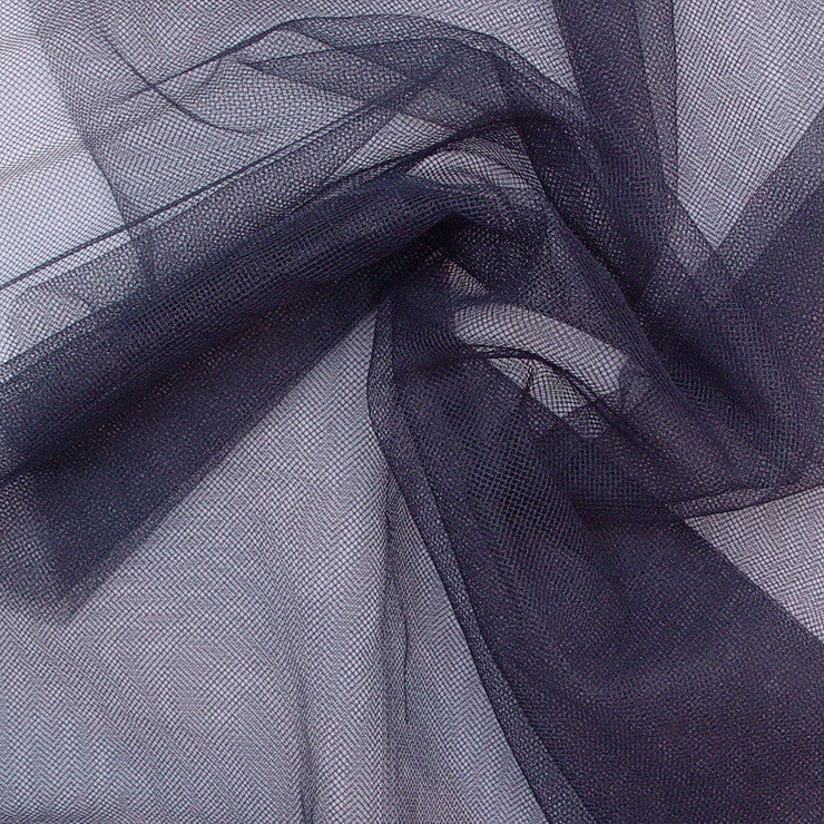 French Veil Tulle Grey - NY Fashion Center Fabrics