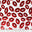 Metallic Lips Print Spandex H 1252 - NY Fashion Center Fabrics