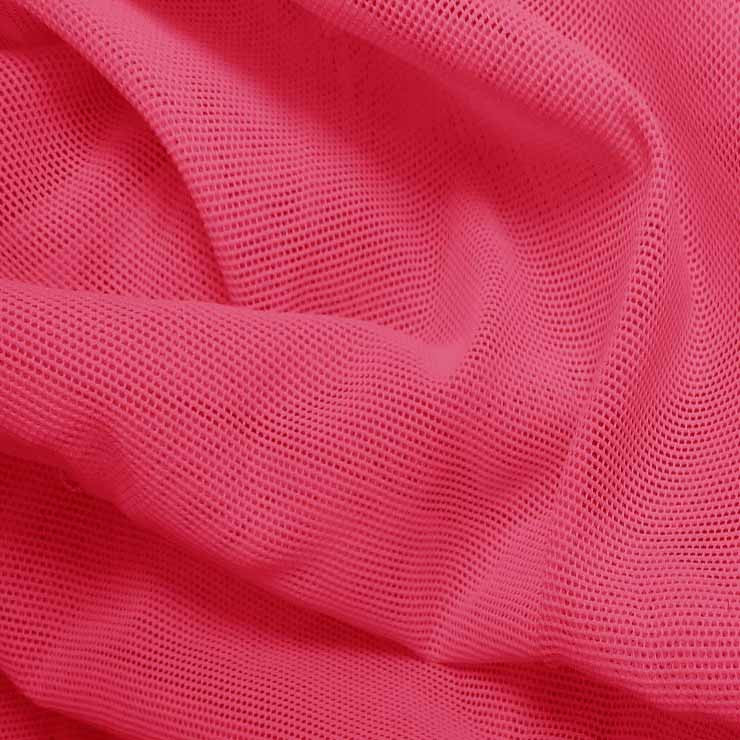 Nylon Powermesh Hot Pink - NY Fashion Center Fabrics