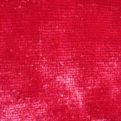 Spandex Crushed Velvet 15 Yard Minimum Hot Pink