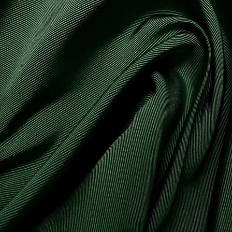 Silk Faille Hunter Green