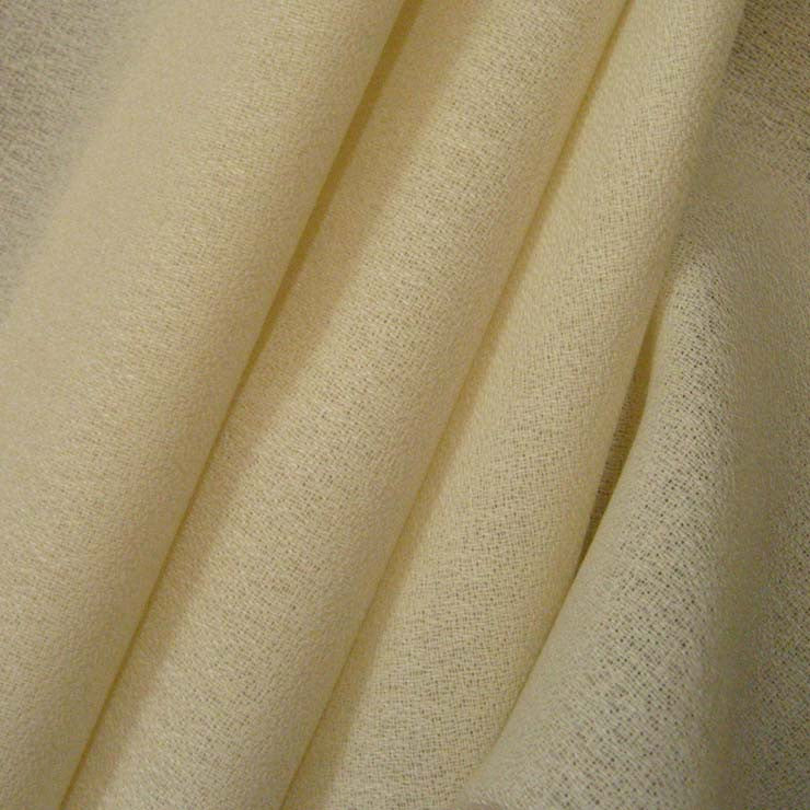 Worsted Wool Crepe Ivory