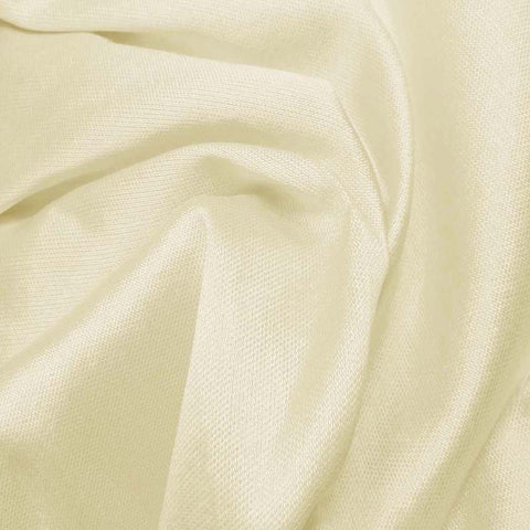 Silk Wool Fabric Ivory