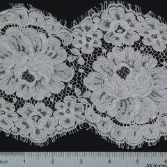French Scallop Trim #15470R/6 Ivory - NY Fashion Center Fabrics