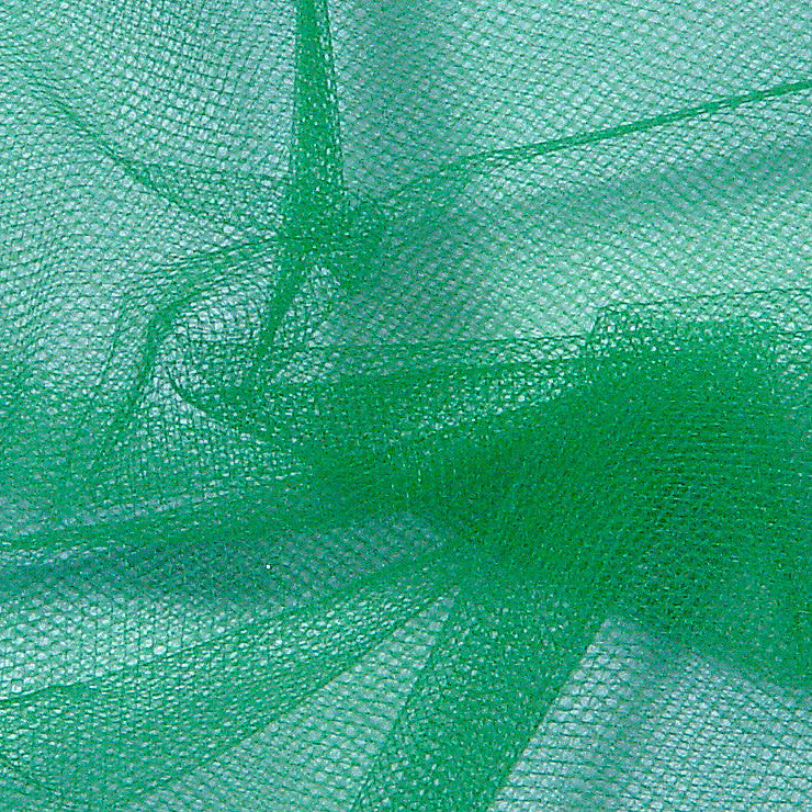 Nylon Tulle - 50 Yard Bolt Jade - NY Fashion Center Fabrics