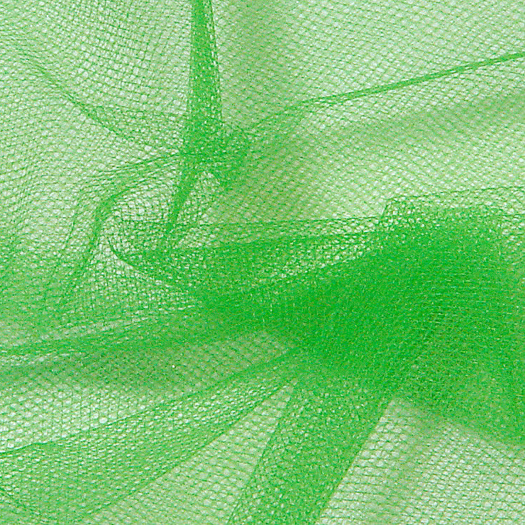 Nylon Tulle Kelly - NY Fashion Center Fabrics