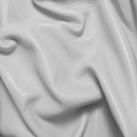 Drum Dyed Lamb Nappa Leather L301 White - NY Fashion Center Fabrics