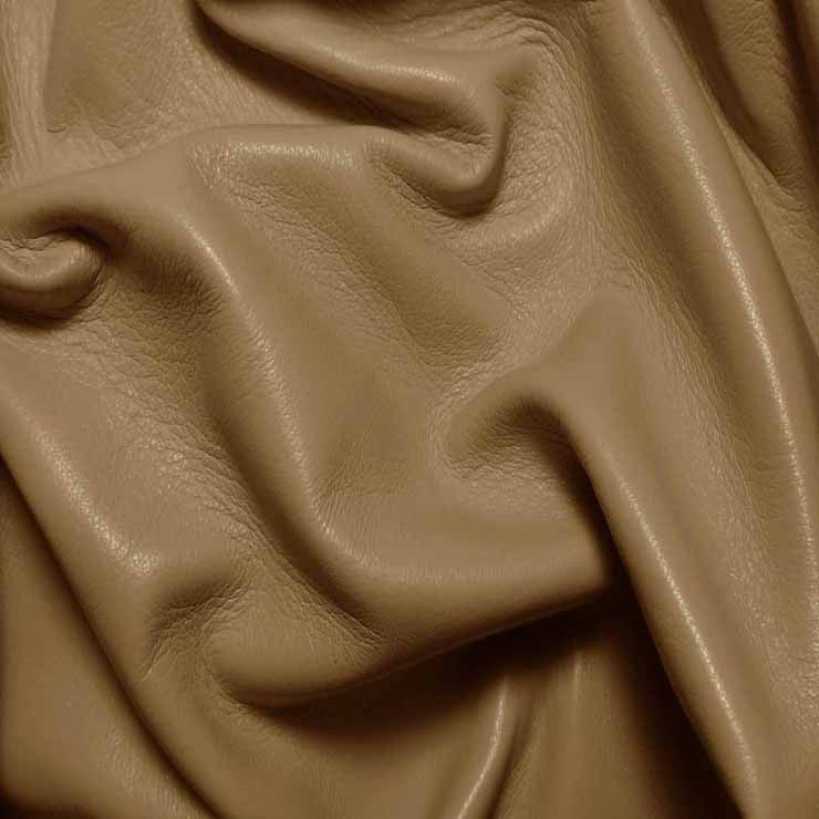 Drum Dyed Lamb Nappa Leather L305 Putty - NY Fashion Center Fabrics