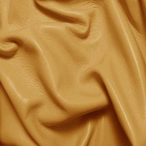 Drum Dyed Lamb Nappa Leather L306 Honey - NY Fashion Center Fabrics