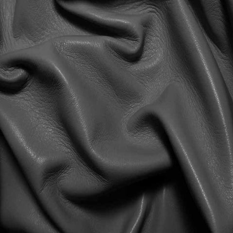 Drum Dyed Lamb Nappa Leather L328 Grey - NY Fashion Center Fabrics