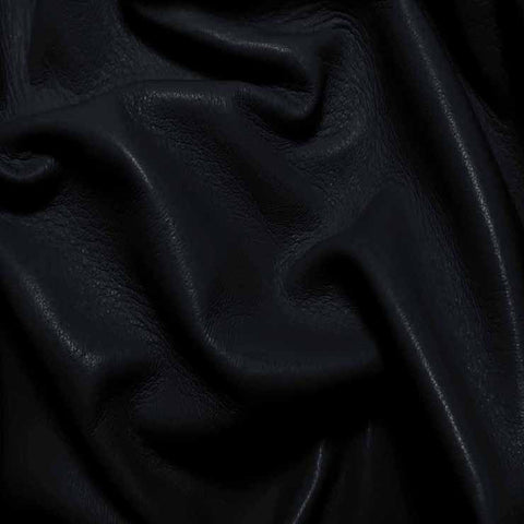 Drum Dyed Lamb Nappa Leather L329 Navy - NY Fashion Center Fabrics