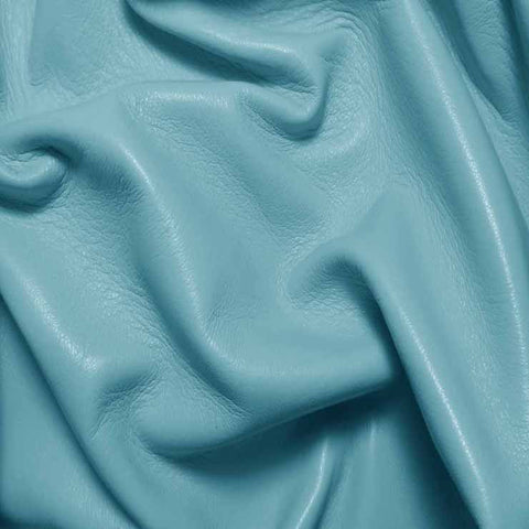 Drum Dyed Lamb Nappa Leather L332 Baby Blue - NY Fashion Center Fabrics