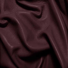 Drum Dyed Lamb Nappa Leather L332 Plum - NY Fashion Center Fabrics