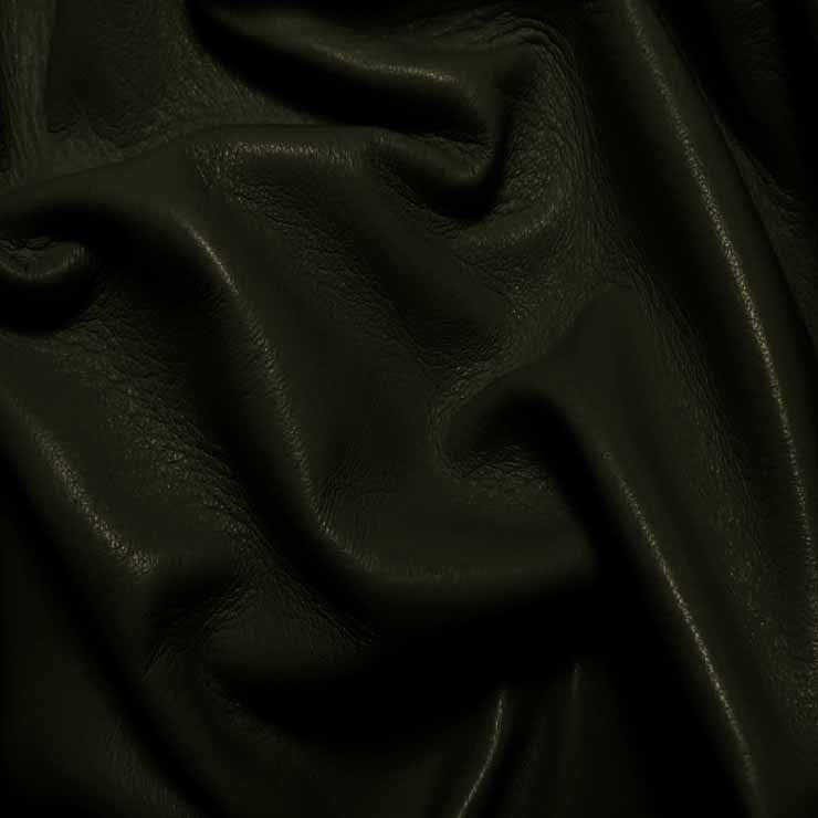 Drum Dyed Lamb Nappa Leather L337 Olive Green - NY Fashion Center Fabrics