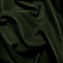 Drum Dyed Lamb Nappa Leather L338 ForestGreen - NY Fashion Center Fabrics