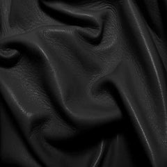 Drum Dyed Lamb Nappa Leather L340 Black - NY Fashion Center Fabrics