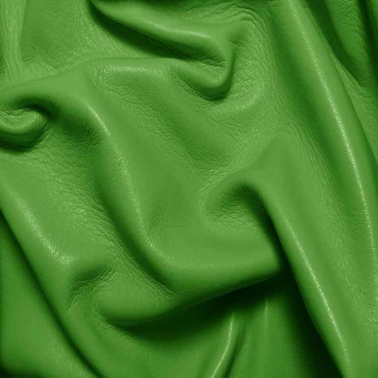 Drum Dyed Lamb Nappa Leather L362 Avocado - NY Fashion Center Fabrics