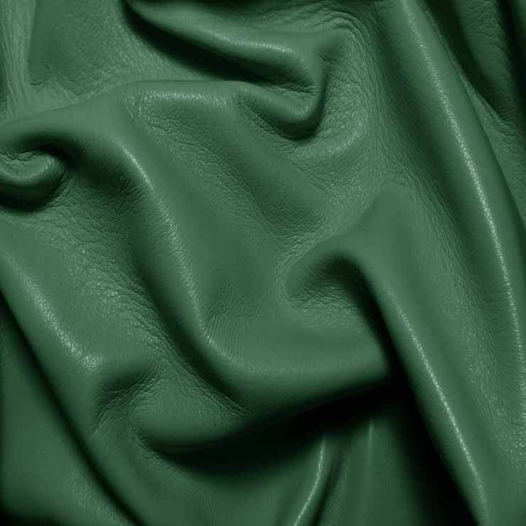 Drum Dyed Lamb Nappa Leather L364 Cypress - NY Fashion Center Fabrics