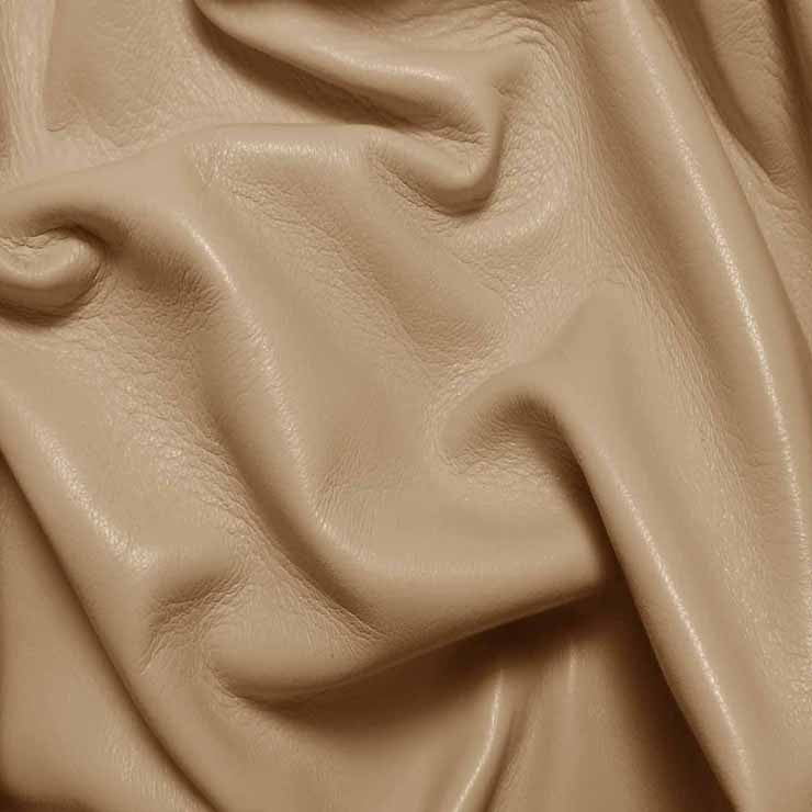 Drum Dyed Lamb Nappa Leather L367 Chamois - NY Fashion Center Fabrics