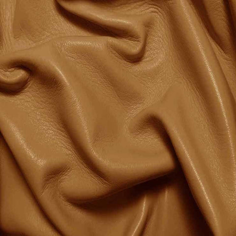 Drum Dyed Lamb Nappa Leather L378 Taupe - NY Fashion Center Fabrics
