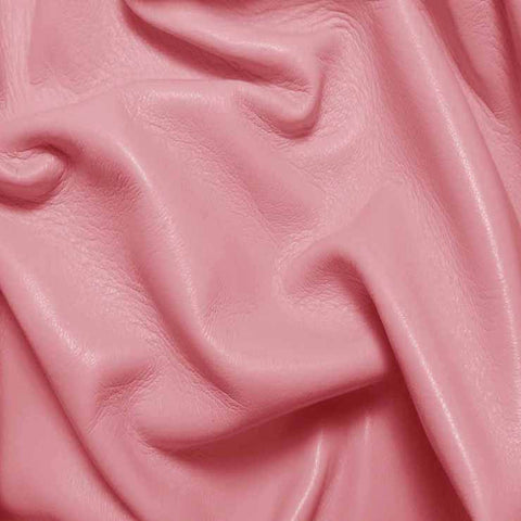 Drum Dyed Lamb Nappa Leather L384 Bubblegum - NY Fashion Center Fabrics