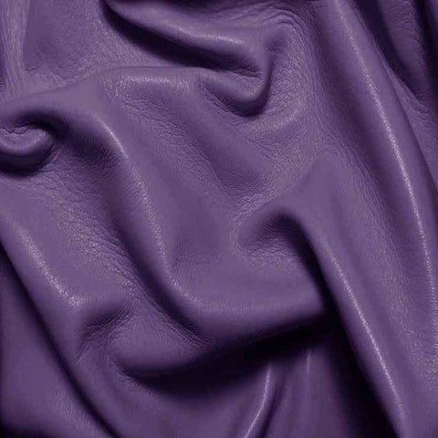 Drum Dyed Lamb Nappa Leather L387 Light Purple - NY Fashion Center Fabrics